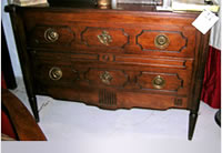 VINTAGE BAKER FRENCH STYLE CHEST
