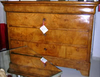 19TH CENTURY LOUIS PHILLIPPE CHEST (EXOTIC WOOD)